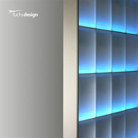 Wand Aus Glasbausteinen by Abschlussprofil F 252 R 8cm Starke Glasbausteine Glasstein In