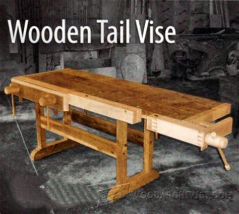 diy bench vise woodarchivist