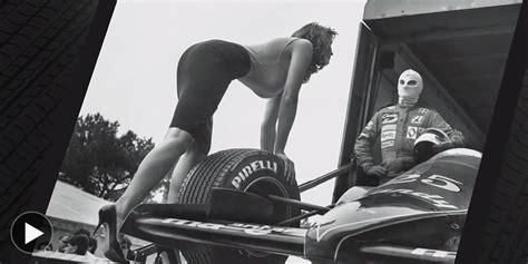 pirelli calendar      helmut newton