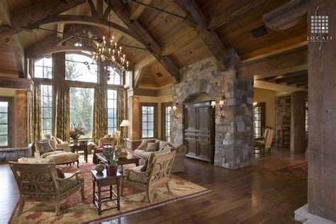 vaulted great room ideas photo gallery country great room with built in bookshelf by locati