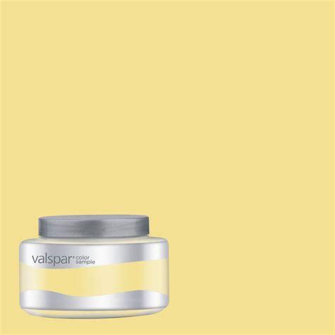 lowes paint color shop eddie bauer colors by valspar 8 oz cottage yellow interior satin paint sle at lowes