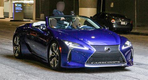 2020 Lexus LC Convertible Spotted Undisguised During ...