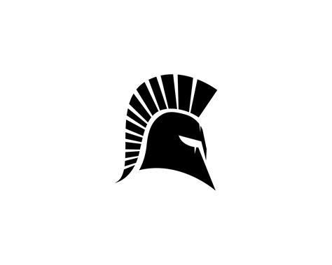 spartan helmet logo vector   vector art