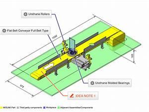 No.000184 Inspection Mechanism on Belt Conveyor | inCAD ...