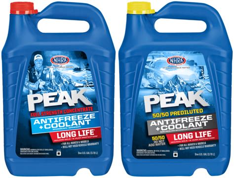 Sierra Antifreeze & Coolant From Peak