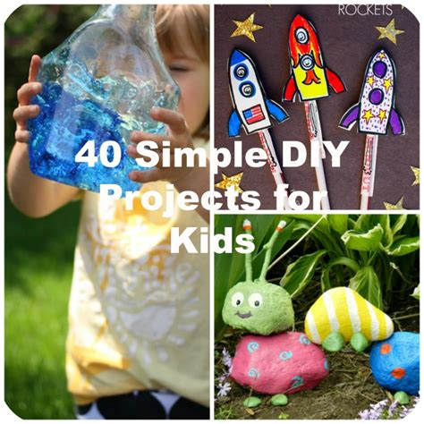 Kitchen Restoration Ideas - 40 simple diy projects for kids to make