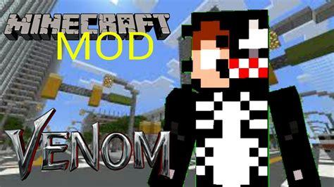 Minecraft Pe Mod Do Venom Youtube
