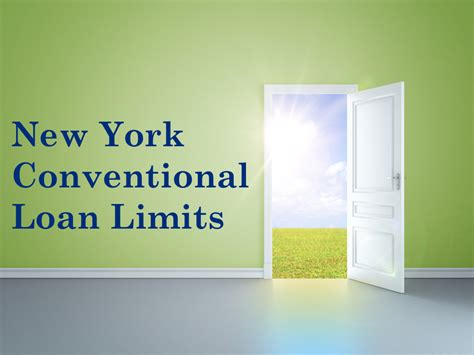 york conventional loans ny conforming loan limits