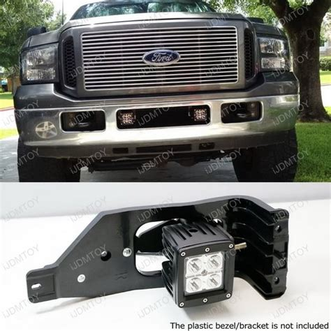 ford f250 f350 f450 40w cree high power led bumper light kit