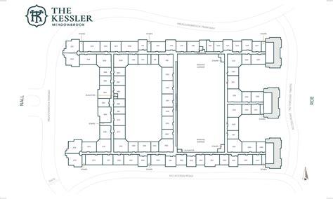The Kessler Residences  Site Map