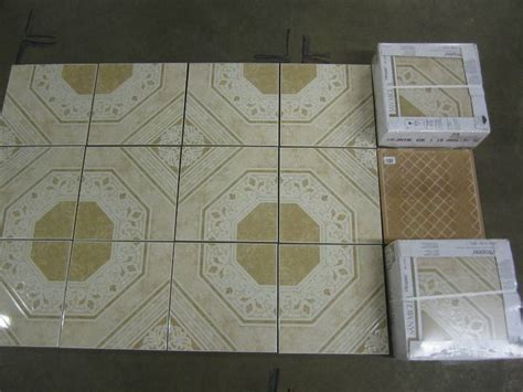 vitropiso tile lot of 10 cases ceramic floor tiles colonial gold vitropiso ceramic floor tile liquidation