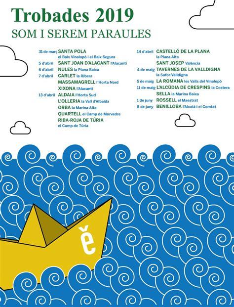 calendari de trobades escola valenciana