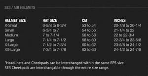 Fly Racing Youth Helmet Size Chart Size Chart