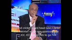 Najam Sethi admitted Indian Help in Pakistan cricket ...