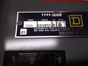 Square D 56188 208v 4w