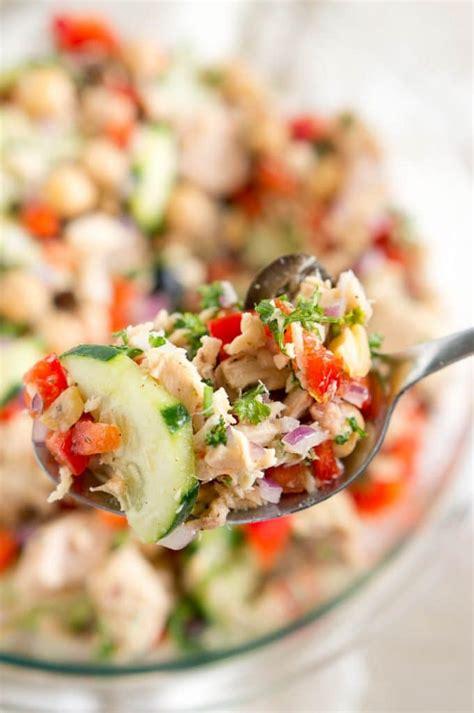 Mediterranean Tuna Salad  Delicious Meets Healthy
