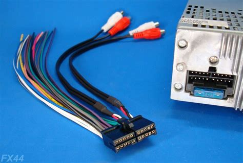 Jensen Pin Radio Wire Harness Stereo Power Plug Dvd