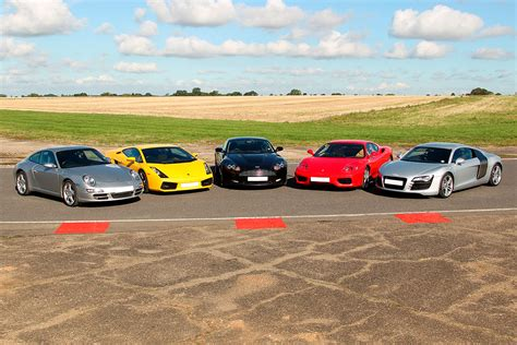 Driving Experience five supercar driving experience at goodwood motor circuit