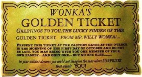 golden ticket templates find word templates