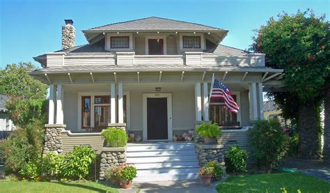 The california craftsman style side by duplex 1923 standard homes company house plans of 1920s. Craftsman House | San Jose, California. | By ...