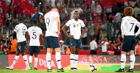 Follow the euros on the go. Football. Euro 2020. Des Bleus méconnaissables en Turquie ...