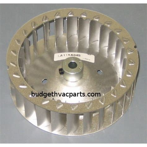carrier inducer fan motor la11xa045 carrier draft inducer blower wheel