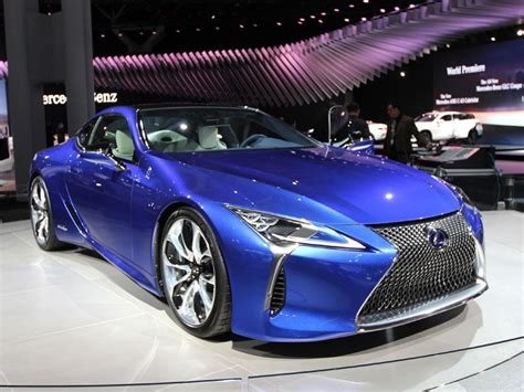 Mustsee Luxury Cars And Sedans At The 2016 New York Auto
