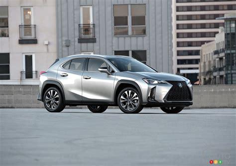 lexus ux officially presented  canada car news