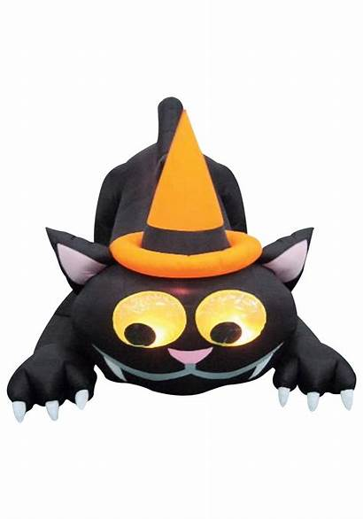 Cat Animated Hat Inflatable Airblown Halloween Blow