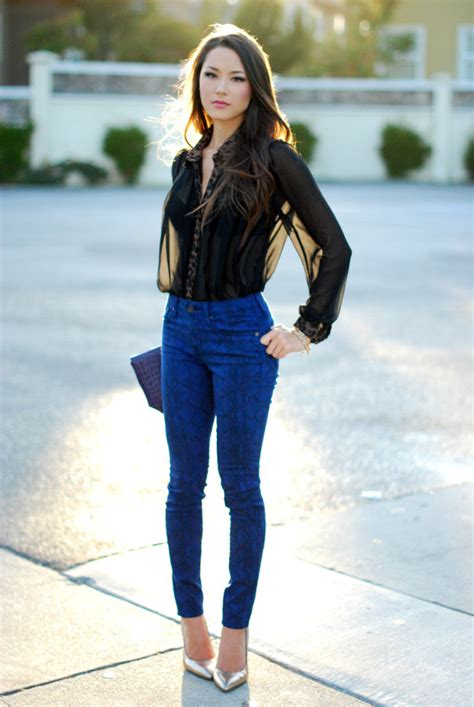 Style Bloggers Denim Outfit Of The Day - Denimology