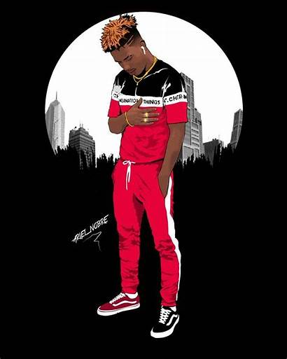 Cartoon Swag Supreme Nike Rappers Dope Parede