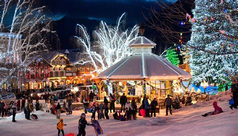leavenworth tree lighting festival leavenworth christmas lighting festival day trip from