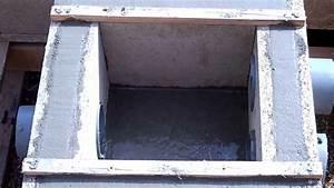 coulage du beton d39un regard d39eaux pluviales youtube With prix dalle beton maison
