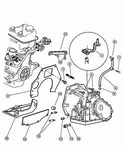 1997 Dodge Neon Transaxle Mounting And Misc  Parts  Dgc