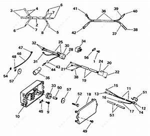 Evinrude 1996 130  Tilt Electrical