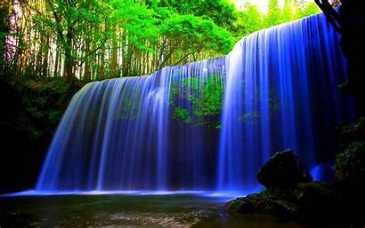 Waterfall Nature Wallpapers 3d Forest Waterfalls Pc