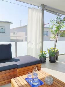 Gesims Für Vorhänge : outdoor vorhang santorini fertigvorhang weiss ~ Michelbontemps.com Haus und Dekorationen