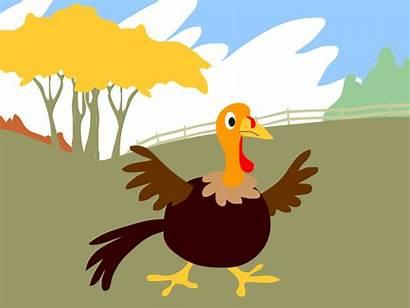 Thanksgiving Turkey Animated Rasengan Surprise Worried Mean