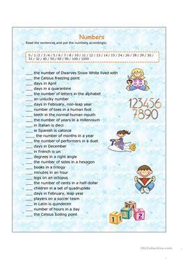 esl warmer worksheets