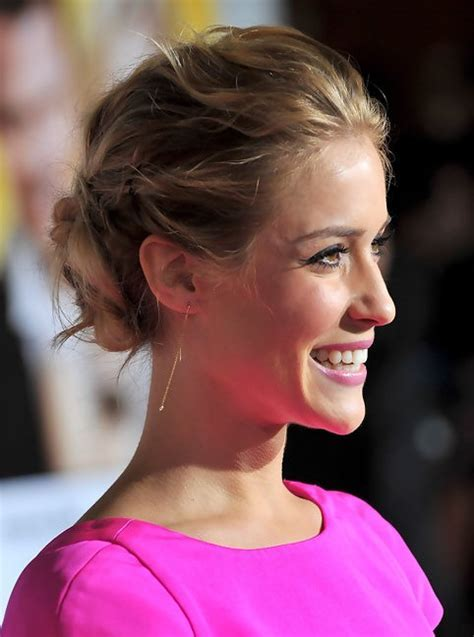 Kristin Cavallari Long Hairstyle: Bobby Updo for Curly