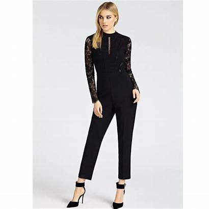 Guess Jumpsuit Kant Zwart Fracomina Fashionobsession Ibana