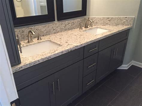 dark grey shaker cabinets dark grey shaker bathroom cabinets with quartz countertops