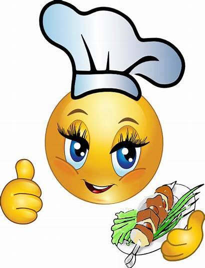Smiley Cooking Emoticon Clipart Emoticons Chef I2clipart