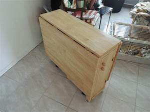 Table Pliante Avec Chaise : table de cuisine pliante en bois table 4 personnes avec rallonge trendsetter ~ Teatrodelosmanantiales.com Idées de Décoration