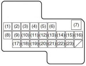 Suzuki Fuse Box Diagram Auto Genius