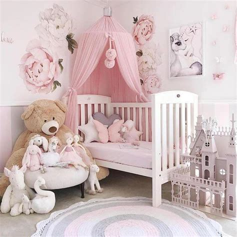 inspiring nursery ideas   baby girl cute designs youll love