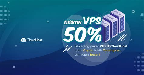 Great deals on vps discounts 20% and 25% for live, special vps plans and start with 3 usd per month. Promo VPS Indonesia (Diskon 50% - Termurah) | IDCloudHost