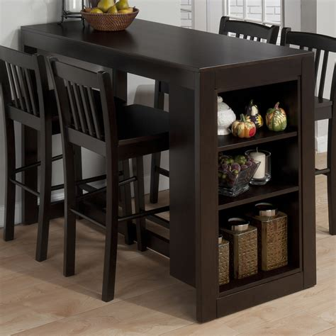 kitchen dinette sets with bench jofran 810 48 maryland counter height storage dining table