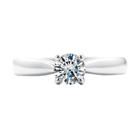 hearts  fire  ct diamond serenity solitaire