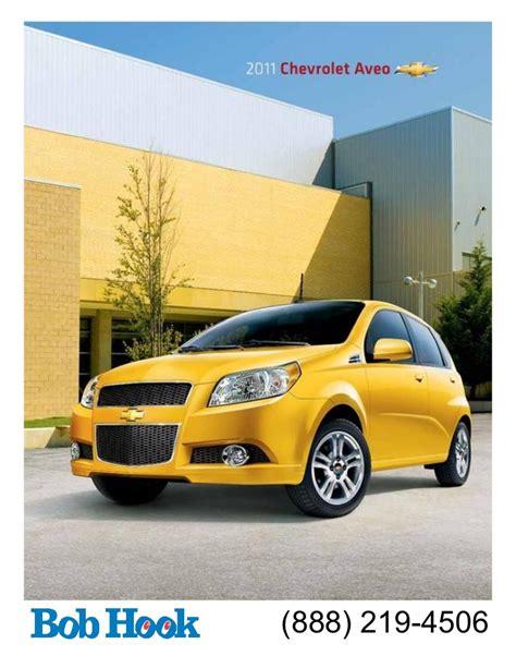 Bob Hook Chevrolet 2011 Aveo Brochure